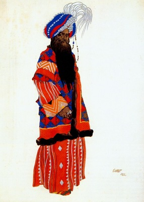 bakst le sultan samarcande
