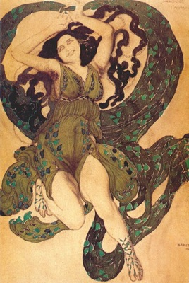 bakst narcisse a nymph
