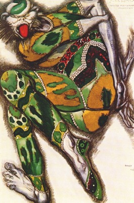 bakst sadko the green monster