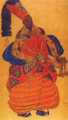 bakst scheherazade the chief eunuch