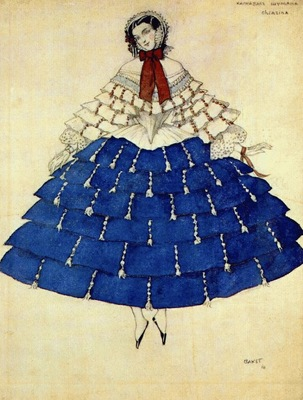 bakst the carnival chiarina