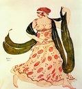 bakst cleopatre greek dancer