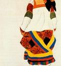 bakst russian peasant woman