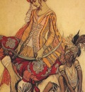 bakst the sleeping beauty eastern prince and his page