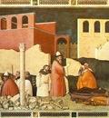 Maso di Banco Pope St Sylvesters miracle, ca 1340, Cappella