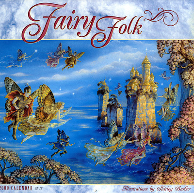 DK Shirley Barber Fairy Folk 00 Front Cover