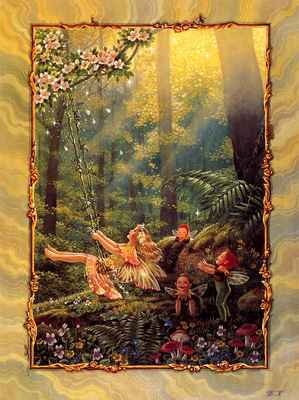 DK Shirley Barber Fairy Folk 01 January