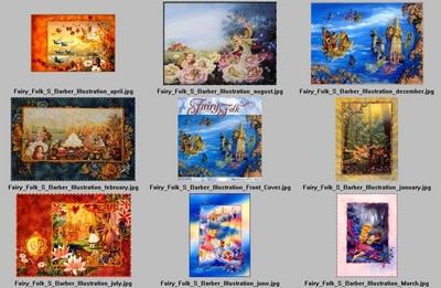 DK Shirley Barber Fairy Folk Index1