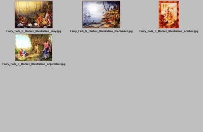 DK Shirley Barber Fairy Folk Index2