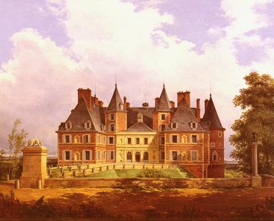 Barbier Nicolas Alexandre A French Chateau