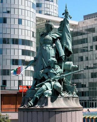barrias louis ernest monument aux defenseurs de paris