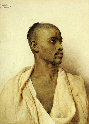 Bartolini Frederico Portrait Of An Arab Man