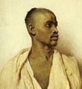 Bartolini Frederico Portrait Of An Arab Man