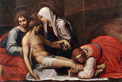 Bartolomeo Fra Deposition c1515