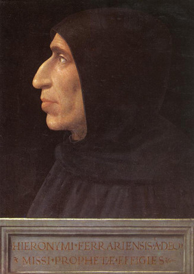 Bartolomeo Fra Portrait of Girolamo Savonarola c1498