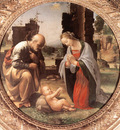 Bartolomeo Fra The Adoration of the Christ Child