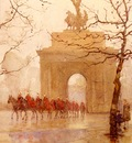 Barton Rose Maynard Hyde Park Corner With Household Cavalry