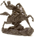Barye Antoine Louis Esquisse pour Thesee combatant le centaure Bienor