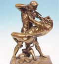Barye Antoine Louis Thesee et le Minotaure JAG