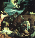 BASSANO ANNUNCIATION TO THE SHEPHERDS, BELVOIR CASTLE, LEICE