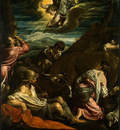 bassano,j  the annunciation to the shepherds, probably 155