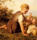 Bauerle Carl Wilhelm Friedrich An Autumn Idyll