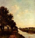 Bauffe Victor Grazing Cows In A Landscape