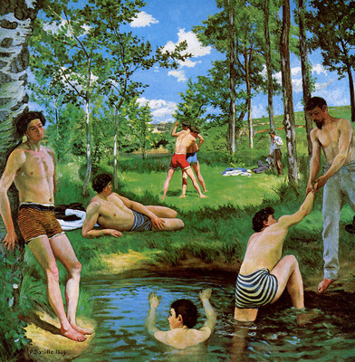 Bazille Frederic Summer merriment