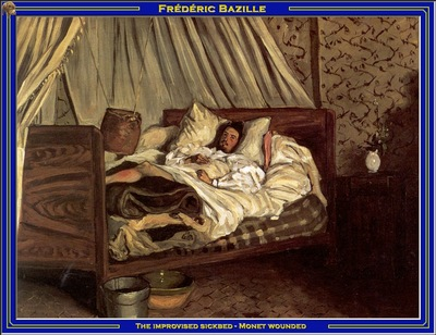 PO Vp S2 36 Bazille The improvised sickbed