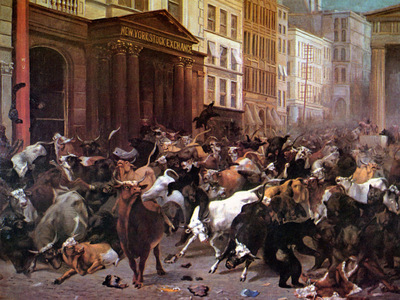 JLM 1879 William Beard Bulls and Bears in the Market