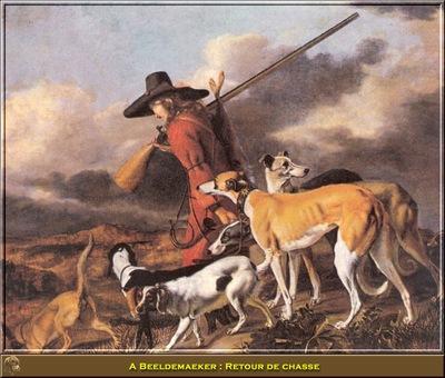 PO HunP 01 A Beeldemaeker Retour de chasse