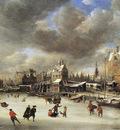 Beerstraten Jan The Paalhuis bridge in the winter