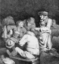 Bega Cornelis Scene at an Inn Sun
