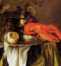 Beijeren van Abraham Still with lobster Sun