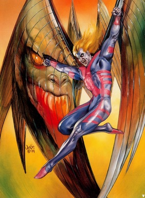 JB 1994 archangel in the danger room