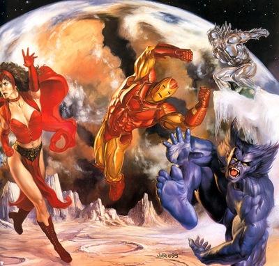 jb 1998 xmen and avengers