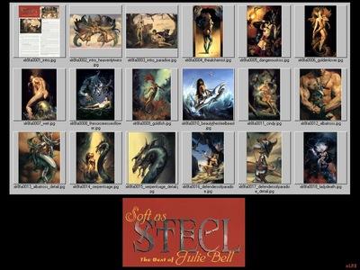 Julie Bell 2000 Calendar xlr8 jbell01