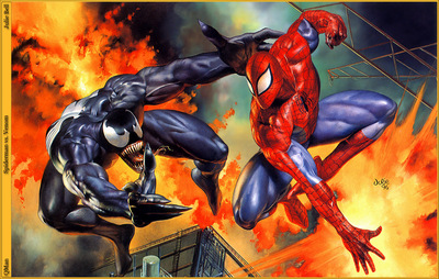 QMan JB SaS 630 Spiderman vs Venom