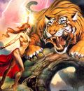 JLM Julie Bell Tiger Magic