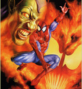 QMan JB Titans 1854 Spiderman VS Carnage VS Green Goblin