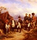 Bellange Joseph Louis Hippolyte Napoleon Et Le Petit Messager