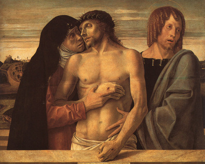 BELLINI,G  PIETA, BRERA GALLERY AT MILAN