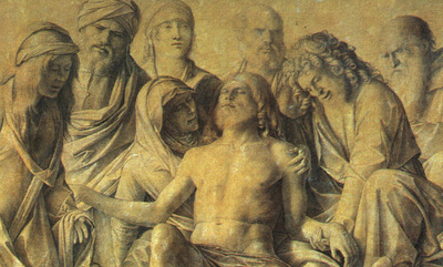 BELLINI,G  THE LAMENTATION OVER THE BODY OF CHRIST, 1500, UF