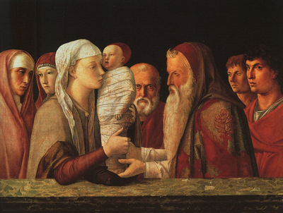 BELLINI,G  THE PRESENTATION AT THE TEMPLE, APPROX  1459, GAL