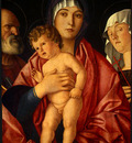 BELLINI,G  MADONNA AND CHILD WITH SAINTS, C  1490, NGW