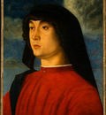 BELLINI,G  PORTRAIT OF A YOUNG MAN IN RED NGW