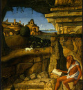 BELLINI,G  SAINT JEROME READING, 1480 1490, NGW