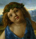 BELLINI,G  THE INFANT BACCHUS, PROBABLY 1505 1510, DETALJ 1,