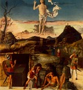 Bellini,Giovanni Resurrection of Christ, 1475 79, 148x128 cm