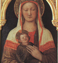 BELLINI,J  MADONNA AND CHILD, 1450, UFFIZI
